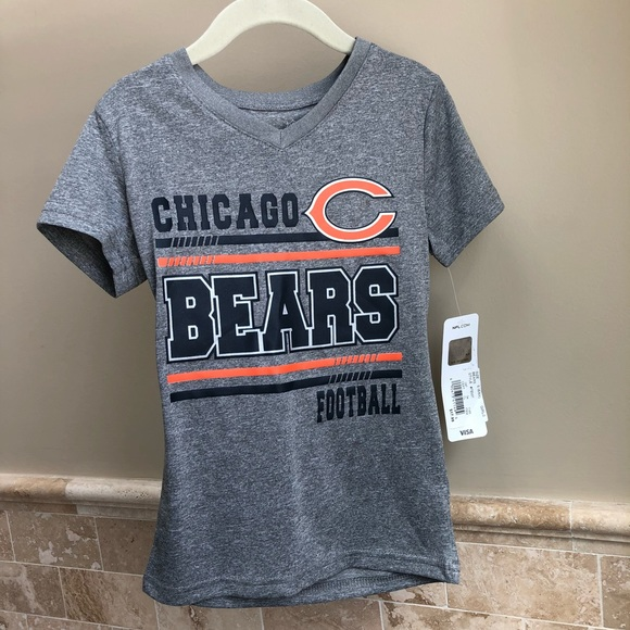 361501d2 Chicago Bears girls T-shirt NWT NWT